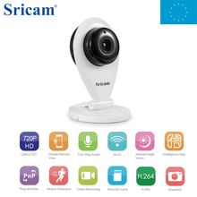 Local Shipping ! Sricam SP009 Wifi Wireless IP Camera 1.0MP CCTV Security IP Camera Support Motion Detection Baby Monitor(China)