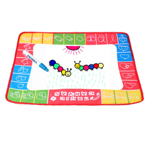 48*36CM Baby Kids Add Water with Magic Pen Doodle Painting Picture Water Drawing Play Mat in Drawing Toys Board Gift Christmas
