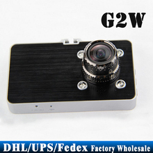 "Free DHL Fedex 50pcs/lot G2W Car DVR 1080P Full HD 30FPS Camera 3.0"" Screen 170 Degree Wide Angle G-sensor Video Recorder(China)"
