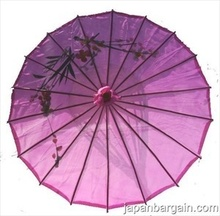 [ Fly Eagle ] Japanese Chinese Kid Size Umbrella Parasol 22in Purple