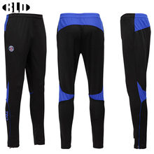 New Running Pants Men Solid Elastic Slim Breathable Quick Dry Soccer Training Football Pants Competition Sport Running Legging