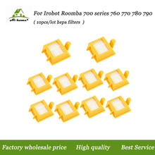10 PACK Hepa Filters Replacement Parts for iRobot Roomba 700 Series 760 770 780 790 Filters Vacuum Cleaner Robots(China)