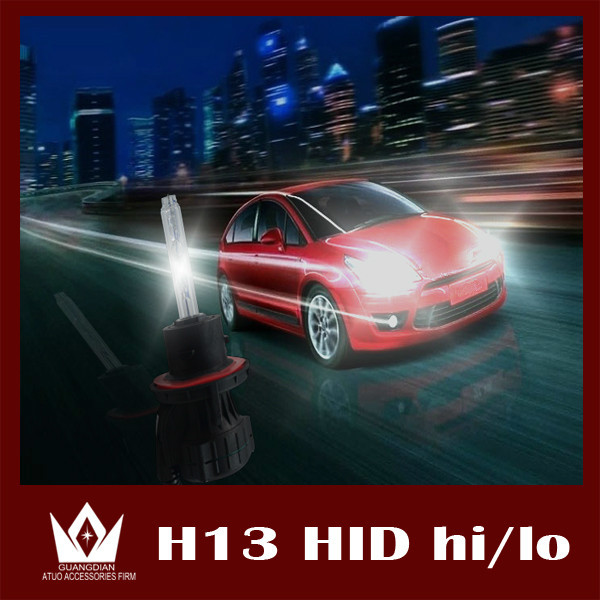 Guang Dian car light HID Xenon Bulb HID Headlight Replacement Bulb Lamp H13 H/L bi xenon 12V 35W 6000K WHITE bulbs lamp<br><br>Aliexpress