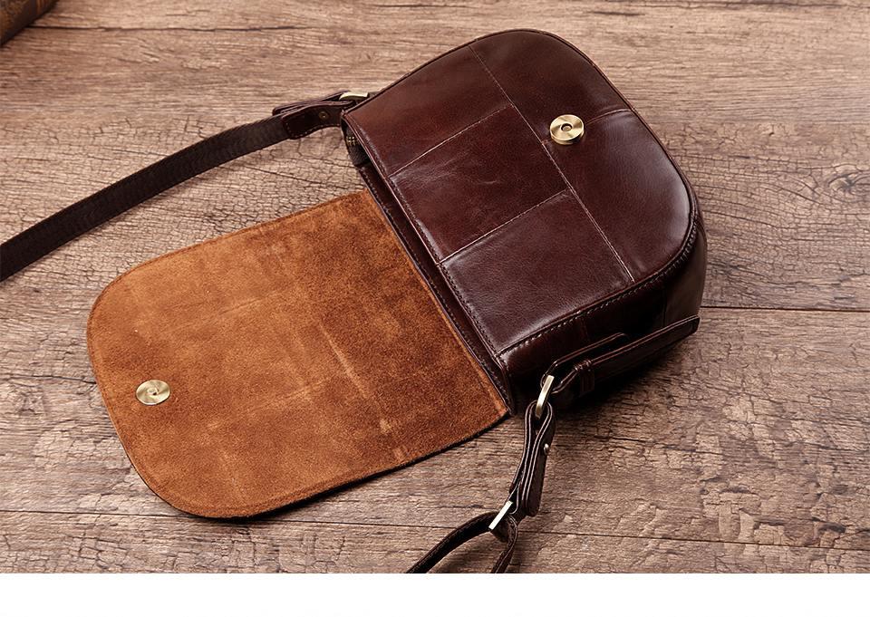 حقيبة جلد طبيعي للنساء 8