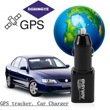 DOXINGYE,Mini Car Car Tracker Locator GSM GPRS Real Time Tracking Device USB Car Charger For phone ipad
