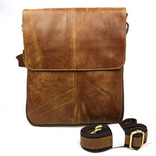 First Layer Cow Skin 100% Genuine Leather Bag For Men Vintage Style Men's Business Messenge Bag Tablet PC handbag YS1313