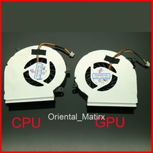 Free Shipping NEW PAAD06015SL DC5V 0.55A 4Pin Fan For MSI GE62 GE72 PE60 PE70 GL62 CPU GPU Cooler Fan