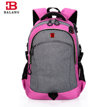 BALANG Brand Popular School Backpacks for Girls High Quality Notebook Bags Waterproof Travel Casual Bags Trendy(China)