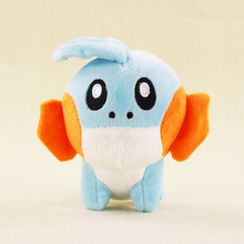 16cm Japanese Anime Cartoon Mudkip Plush Toy Stuffed Animals Plush Doll Gift for Kids