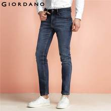 Giordano Men Jeans Washed Stretch Denim Jeans Multi Pocket Trousers Pantalones Vaqueros Hombre Mid-low Rise Jeans Brand Clothing