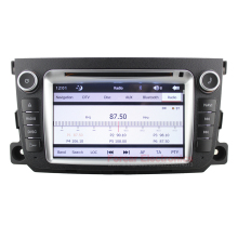 Car DVD GPS for Mercedes Benz Smart fortwo For2 2011-2014 with Capacitive Touch screen Bluetooth Radio RDS Free 8GB Map card