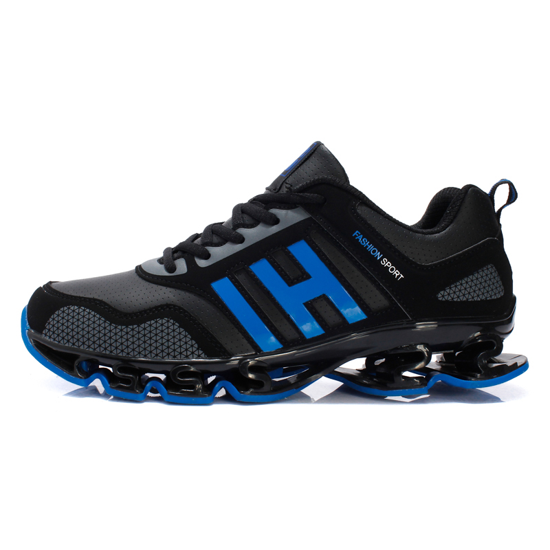 Men Running Sneakers Athletic Shoes Breathable Running shoes Sport Shoes Men Non Slip Gym Leather fitness marathon 2017 brand<br><br>Aliexpress