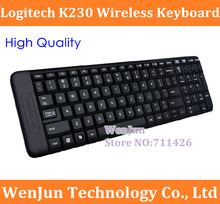 1PCS Free Shipping Logitech K230  wireless keyboard laptop mini ultra-thin mute keyboard ,can change the color shell