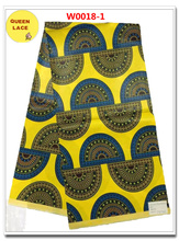 QI BUThe Real Manufacturer of Hitarget Brand 100 Cotton Real Wax Prints Fabric Veritable African Textile Fabric(China)