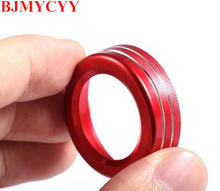 BJMYCYY car volume knob decoration/volume decoration Knob sticker Fit for Mercedes Benz A Class B Class E Class GLK GLA CLA(China)