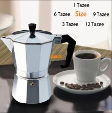 Moka Espresso Coffee Maker Machine /glantop Aluminum 1cup/3cup/6cup/9cup/12cup Italian Stove Top//percolator Pot Tool(China)