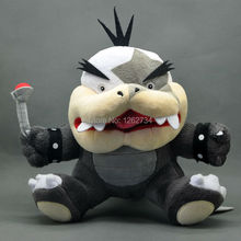 "Free Shipping EMS 30/Lot Super Mario Bros Morton Jr. Koopalings Bowser 7"" Plush Doll Toy(China)"