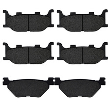 For Yamaha XVS1300 ACFD Midnight Star / Casual Full Dresser (With Handlebar Fairing) 2014-2016 Motorcycle Brake Pads Front Rear