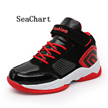 Seachart Kid's Sneaker Boy Basketball Shoes Girl Walking Shoes Baby Children footwear all match Sport Daily boot gamin chaussure(China)