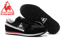 Free Shipping New Styles Le Coq Sportif Men's Running Shoes Sneakers Black/White Cololr 1
