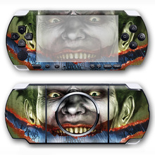 for smile face skin sticker for Sony PSP 3000 Skin Stickers Front and Back Decal  #TN-PP3000-278