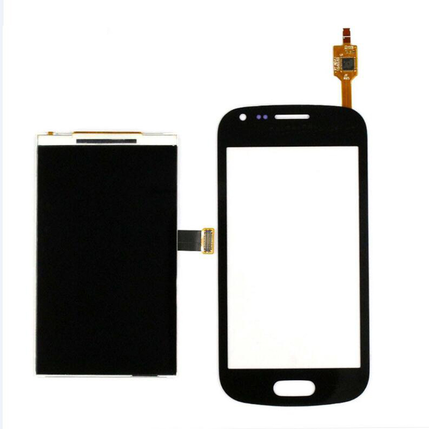 100% Test Working Touch Screen Digitizer+LCD Display For Samsung Galaxy S Duos S7562 S7560 GT-S7560 GT-S7562 Mobile Replacement<br><br>Aliexpress