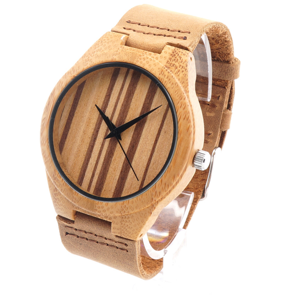 BOBO BIRD F13 Mens Design Brand Luxury Wooden Bamboo Watches With Real Leather Quartz Watch in Gift Box<br><br>Aliexpress