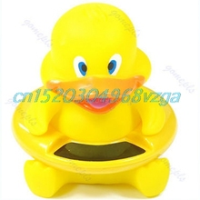 Infant Thermometer Water Temperature Tester Toy Duck Cute Animal Bath Tub Baby #H028#
