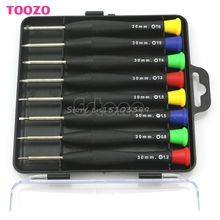 New 8 in 1 Precision Mini Screwdriver Pocket Repair Tools Set For Cell Phone PC Hand Tools #G205M# Best Quality