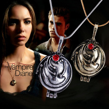 The Vampire Diaries necklace Elena Gilbert vintage vervain verbena pendant jewelry for men and women wholesale