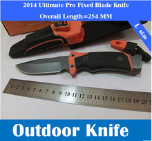 New Pro Fixed Blade Knife Camping Hunting Survival Knives Tactical Ultimate Fine Edge & Diamond Sharpener(China)