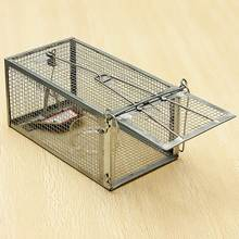 Reusable Hamster Cage Mice Rat Control Catch Bait Live Trap Rodent Animal Mouse