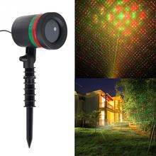 Fashion Xmas Sky Star Laser Projector Spotlight Landscape Park Garden Lawn Light