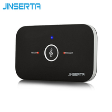 JINSERTA Portable 3.5mm Bluetooth Audio Transmitter Receiver A2DP Stereo Dongle Adapter Music Sound Converter Tablet Speaker