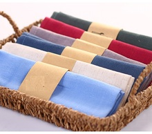 Home Textile 30*42CM color Table Napkin Solid color Plain dyed table Placemats Table Linen/Cotton Fabric Kitchen,Dining & Bar
