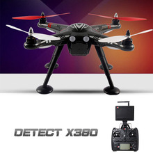 XK Detect X380 X380-C RC Drone FPV GPS Drone 2.4G 4CH 1080P HD Camera GPS Function RTF Multicopter RC Helicopter Quadcopter(China)