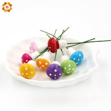 10PCS/Lot Mini 1.5CM Multicolor Resin Crafts Mushroom Garden Ornament Miniature Plant Pots Fairy DIY Dollhouse Garden Miniatures(China)