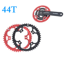 44T MTB Mountain Bikes Road Bicycle Crank Crankset Disc Chain Wheel Tooth Slice Repair Parts 9/27 speed aluminum 44T tooth disc