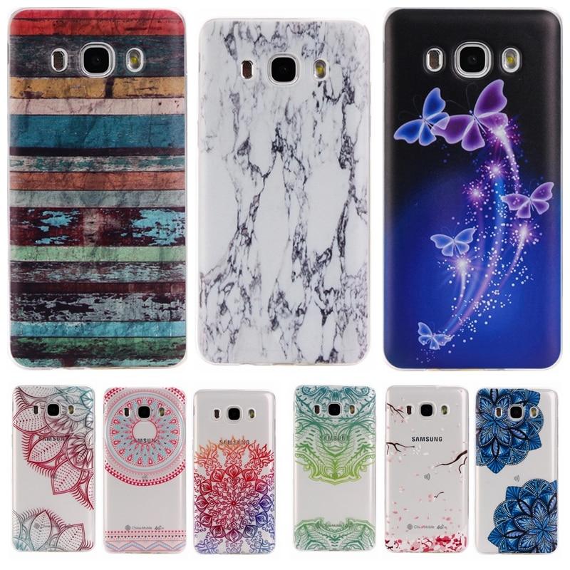 Colorful TPU Case sFor Coque Samsung Galaxy J3 2016 J320 J320F J300 Clear Donuts Soft Transparent Case Cover For Galaxy J300F