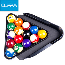New Arrival Cuppa Plastic Triangle Tray Pool Billiard Table Ball Storage Holder Black China