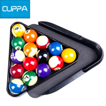 New Arrival Cuppa Plastic Triangle Tray Pool Billiard Table Ball Storage Holder Black China(China)