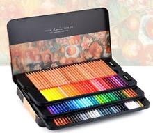 Marco Renoir fine art professional Oily Colored pencils 100 Color lapis de cor Painting pencil /Colored Pencil Tin Box(China)