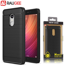RAUGEE TPU Silicone Case For 5.5'' Xiaomi REDMI Note 4X Smartphone Back Cover Case for xiaomi redmi note 4 global version