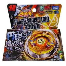 1pcs Beyblade Metal Fusion 4D Set FLASH SAGITTARIO 230ED+Launcher Kids Game Toys Children Christmas Gift BB126 Lct_030