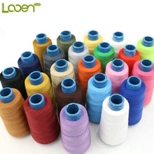Looen Brand 20S/3 High Speed Sewing Thread for Hadmade and Machine, one roll = 1400Yards,Used:Thick fabric,Denim, Jeans, Canvas,