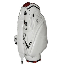 Factory OEM Stock Standard Golf Bag High Quality PU Shell Golf Bag 5 Divisions