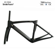 SmileTeam Road Carbon Bike Frame, China OEM Full Carbon Road Bike Frame ,Road Carbon frame 50/53/55/57cm In Size Free Shipping