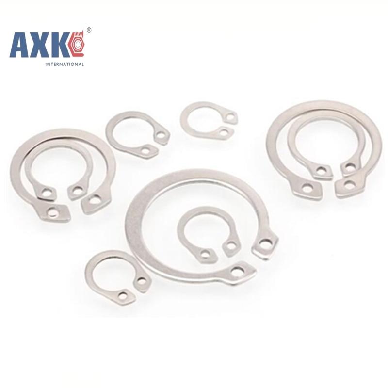 DIN 471 M6 Metric Stainless Spring Steel External Retaining Rings 100 pcs
