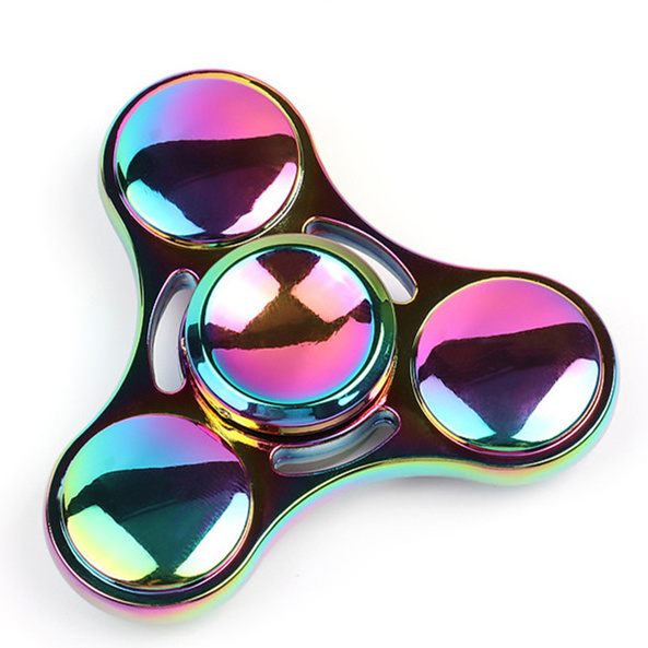 Candy-Polar-lights-Fidget-Spinner-Hand-Metal-Figet-Spiner-Tri-Spinners-Anti-Stress-Stickers-Skinner-Toys_
