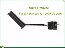 Laptop Sata HDD Connector Adapter Cable DD0R33HD010 R33 For HP Pavilion G4-2000 G6-2000 G7-2000 Series High Quality&100% Working(China)